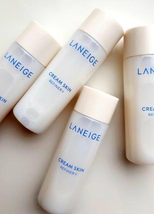 Увлажняющий тонер-крем laneige cream skin refiner 25мл