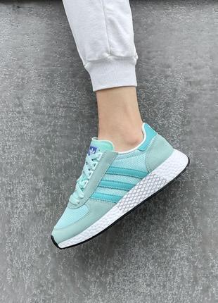 Adidas marathon 🍏 стильные женские кроссовки адидас марафон