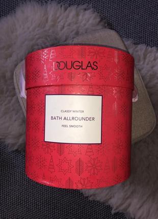 Набор новогодний подарочный ванны душа douglas оригинал италия пенка соль гель крем