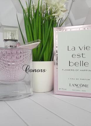 🌺оригинал 🌺75 мл парфюм lancome la vie est belle flowers of happiness цветочный,нежный