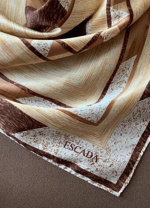 Шёлковый платок escada