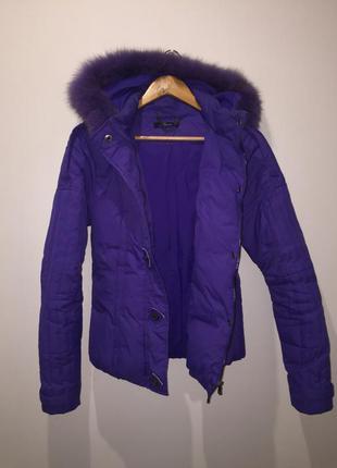 Пуховик италия 🇮🇹 phard down jacket фиолетовый ☔️ тёплый тренд
