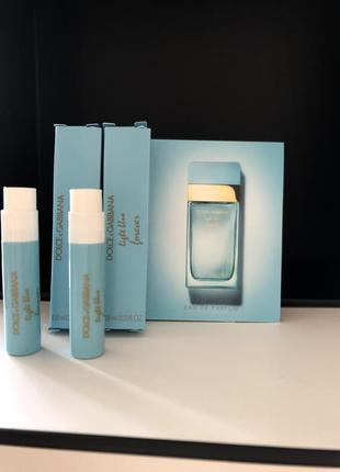 Пробник  женская парфюмированная вода  духи, dolce & gabbana light blue forever