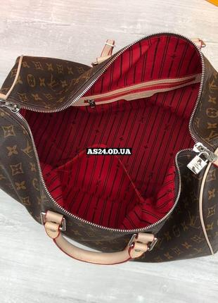 Дорожная, спортивная сумка в стиле луи виттон4 фото