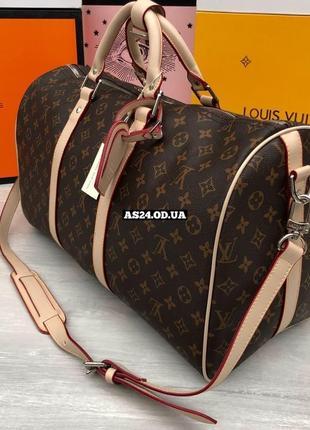 Дорожная, спортивная сумка в стиле луи виттон5 фото