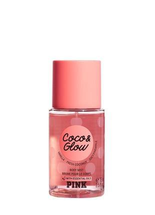 Мист coco & glow от pink victoria's secret