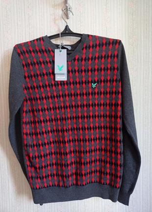 Пуловер lyle scott