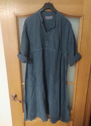 Льняное платье от manuelle guibal