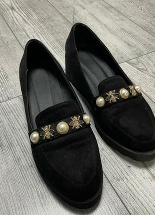 Туфли на платформе р39