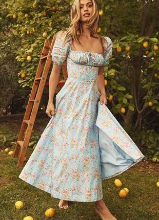 Платье сарафан бюстье завязки