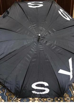 Зонт на длинной ручке