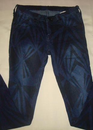 Крутые джинсы качественные в идеальном состоянии