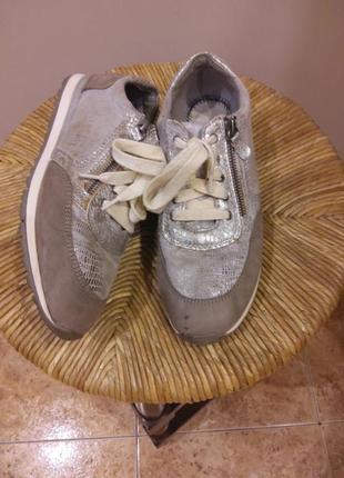 Серые кроссовки кеды  подошва soft flex раз.40 (26.5 см)