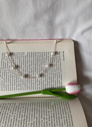 Ніжне намисто з перлами