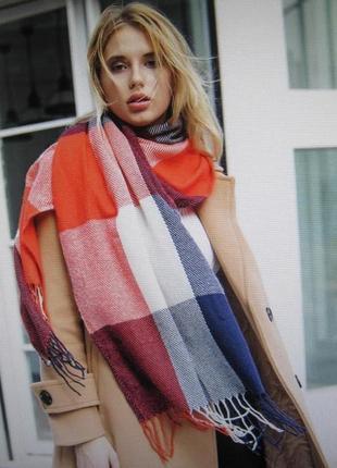 5 стильный плотный шарф, накидка, палантин, платок