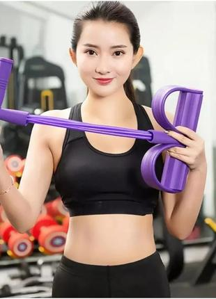 Эспандер неопреновый body trimmer,  тренажер для аэробики, тренажер для фигуры