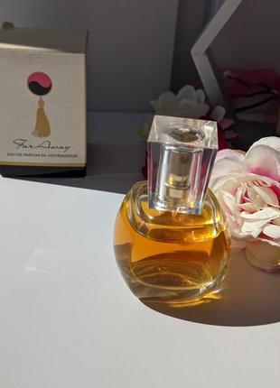 Редкость 2011 года выпуска avon far away edp парфюмированная вода
