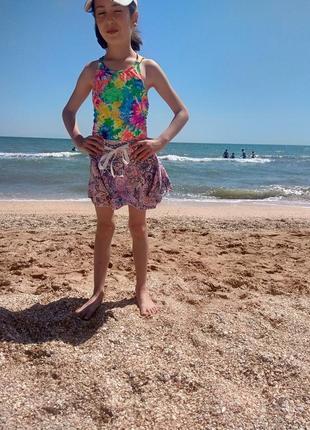 Летняя юбка бренда lulu castagnette