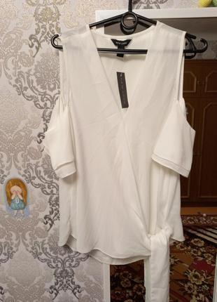Блуза, блузка, футболка, майка, шифоновая, рюши, воланы