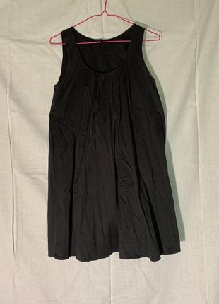 Маленькое чёрное платье massimo dutti