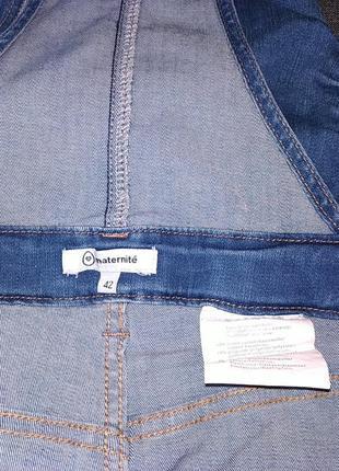 Комби юбка джинсовая.42р.4 фото