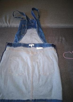 Комби юбка джинсовая.42р.5 фото