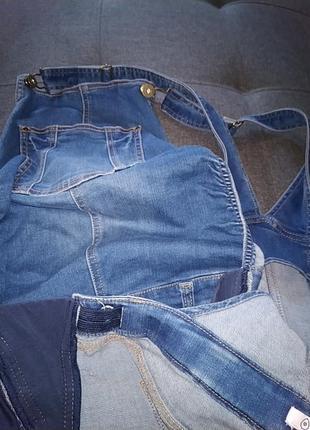 Комби юбка джинсовая.42р.8 фото