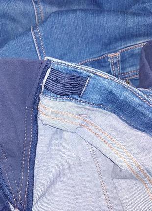 Комби юбка джинсовая.42р.9 фото