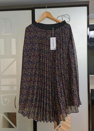 Шикарная юбка плиссе р.48-50 турция