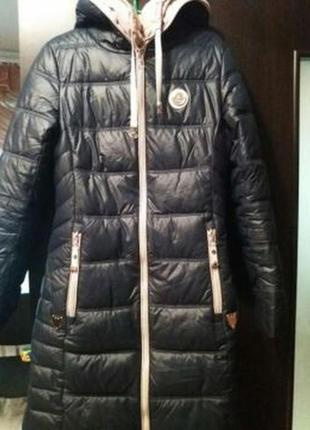 Пуховик,  пальто, холлофайбер