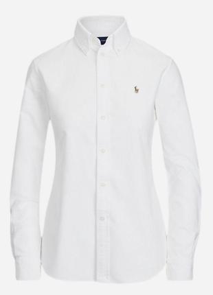Рубашка в стиле оксфорд от ralph lauren