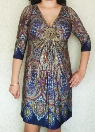 Распродажа!!! очень красивое платье с украшением