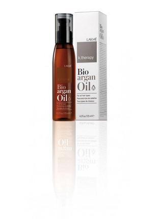 Арганова олія для волосся lakme k. therapy bio argan oil 125мл.