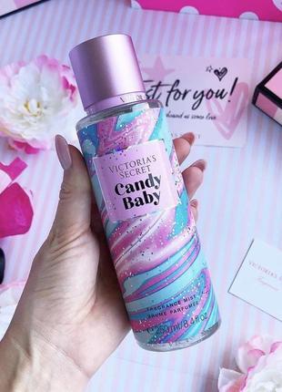 Спрей для тела и волос victoria's secret candy baby