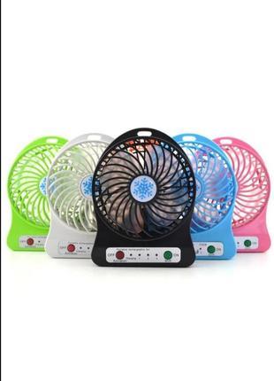 Мини usb портативный настольный вентилятор