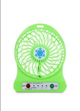 Мини usb портативный настольный вентилятор2 фото