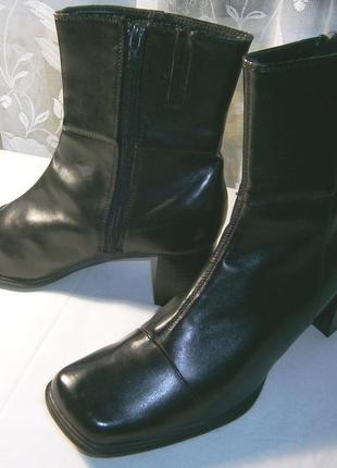 Удобные демисезонные ботинки, р 40