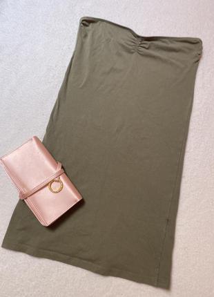 Базовый платье-топ без шлеек