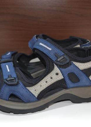 Ecco 35р сандалии кожаные. оригинал