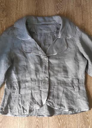 Пиджак легкий лен