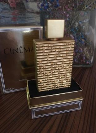 Коллекционный раритет cinema ysl в формате духи( остаток)