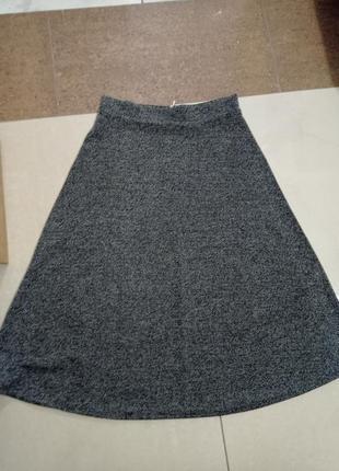 Крутая юбка миди