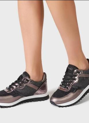 Стильные кроссовки liu jo оригинал 38 размера ньюанс