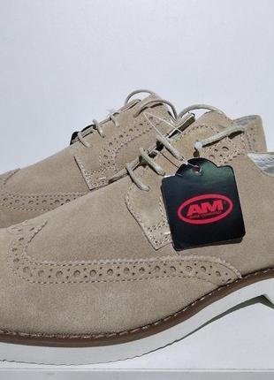 Туфли мужские кожаные am shoe company (германия)
