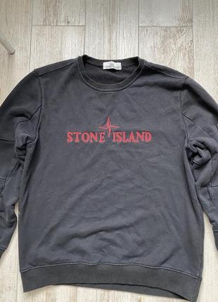 Свитшот stone island. оригинал