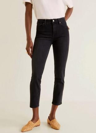 Укороченные джинсы mango