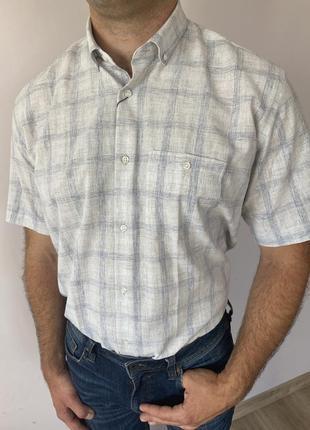 Сорочка теніска льон
