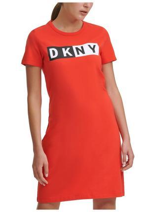 Коралове плаття dkny sport