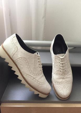 Просто шикарнющие кожаные туфли