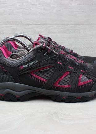 Женские треккинговые кроссовки karrimor weathertite, размер 40